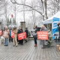 Vabaerakonna korraldatud meeleavaldus Eesti metsa kaitseks