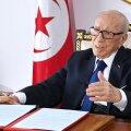 Suri Tuneesia 92-aastane president Beji Caid Essebsi