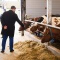 JÜRI RATAS KOHTUB KARJAGA: See aprillikuu päev, kui Tartumaa piimakarja olukorraga tutvus mitmekordne peaminister ja Riigikogu esimees Jüri Ratas, olid meeldejäävad ning täidetud sügava poliitilise sisuga. Eriolukorra juht Ratas toonitas, et just piimakari on baasiks, millele tugineb meie maarahva rikkus. Eesti suurtalud peavad sihikindlalt suurendama kõrge produktiivsusega tõukarja osatähtsust ühiskarjas, järjekindlalt karjast välja praakima vanu, ahtraid ja madala produktiivsusega lehmi. Ei tasu unustada, et just karjaimmuunsus on meie ühiskonda ühendav eesmärk, et pandeemiast tugevamalt väljuda.