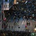 Hongkongi meeleavaldajad tänavatel 28. juulil.
