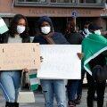 VIDEO ja FOTOD   Vabaduse väljakul protesteerivad nigeerlased kodumaise vägivalla vastu