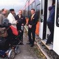 Ratastoolis noormees seekord rongi ei pääsenud. Foto: Kaire Soomets