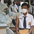 Indoneesias süstitakse Sinovaci nüüd ka 12-17 aastastele koolilastele.