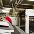 Uus Komori trükimasin Lithrone S44 suurendab ettevõtte trükivõimust kolm korda.