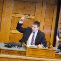 Jüri Ratas Riigikogus