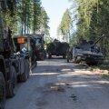 Scoutspataljon saadab lahingusse uued lahingumasinad
