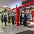 Leedu esimene Burger King Vilniuses Akropolise kaubanduskeskuses.