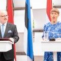 Läti president ja Eesti riigipea Kersti Kaljulaid.