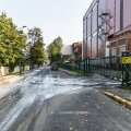 VIDEO JA FOTOD | Tartus levis kuuldus, et mööda Supilinna tänavaid voolab pesuehtne longero. A. Le Coqi juhataja: tegu ikka pesuveega