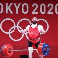 Laša Talahhadze püstitas olümpial kolm maailmarekordit, 500 kg seekord veel ründama ei hakanud.