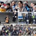 Meeleavaldajad Tallinnas.
