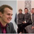 Parempoolsel pildil: Taimi Leinsoo, Raul Liebenau ja Kristi Grünbaum.