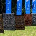 Tallinna Maraton 2021 medalid ja T-särk