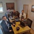 Hanno Pevkur, Rivo Vesik ja Karl Rinaldo.