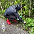 ФОТО | В Хааберсти жители дали бой испанским слизням
