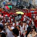 Более миллиона человек вышли на демонстрацию протеста в Гонконге