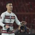 Hetk enne seda, kui Cristiano Ronaldo viskab kaptenipaela murule