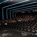 Coca-Cola Plaza värskelt avatud ülimoodsas kinosaalis kiilus film järsku kinni