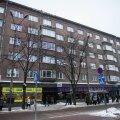 Kaubamaja bussipeatus Tallinnas.