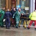 VIDEO JA FOTOD | Soomes Kuopio ametikoolis sai rünnakus üks inimene surma ja 10 viga. Kurjategija kasutas ohvrite pussitamiseks mõõka