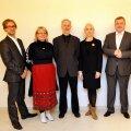 FOTO: Välisministeerium. Vasakult paremale: Märt Agu, Aet Maatee, Raul Talmar, Veronika Portsmuth, Aivar Mäe ja Urmas Paet