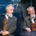 """Kaks härra Maurust Elmo Nüganeni lavastuses """"Tõde ja õigus. Teine osa"""":"""