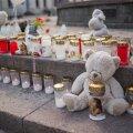 Kemerovo tragöödias hukkunute mälestamine Tartus