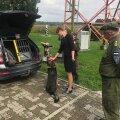 Kersti Kaljulaid ja koer Paavo