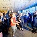 DELFI В НЬЮ-ЙОРКЕ: Эстония баллотируется в Совет Безопасности ООН. В честь этого прошли торжественный прием и танцы