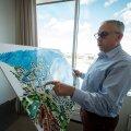 Hillar Teder 2017 Porto Franco arendust tutvustamas