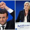 OTSEBLOGI: Prantsusmaa presidendivalimistel pääsesid teise vooru Macron ja Le Pen