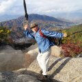 Raile Jaapani pensionärist sõber, kellega koos ta käis mägedes kōyō't nautimas.