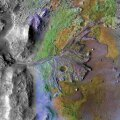 Jezero kraater Marsil.