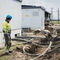 Elektrik Sergei aitas tööle panna varualajaama. Õige alajaama taastamistöö võib aega võtta kuu või rohkemgi.