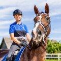 Koolisõitja Dina Ellermann võistleb esimese Eesti ratsutajana olümpiamängudel.