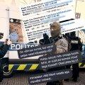 Meeleavaldajate ja politsei vastasseis on jõudnud sellesse punkti, kus korrakaitsjaid sõimatakse e-kirjade ja sotsiaalmeediasõnumite kaudu.