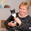 Katrin Streimann ja kassipreili Suusi.