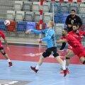 Robin Oberg ja Hendrik Varul aktsioonis maavõistlusmängus Bahreini vastu.