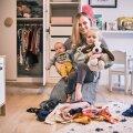 EKSPERIMENT | Kahe väikelapse ema: kuidas ma üle maailma kuulsat koristusmeetodit oma kodus katsetasin