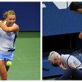 """KUULA   """"Matšpall""""   Miks Anett Osakat võita ei suuda? Kas kohtunikud tegid Djokovici eemaldades õigesti?"""