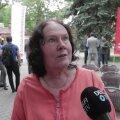 DELFI FOTOD JA VIDEO | Sotsiaaldemokraatide ridades Tallinna volikogu esimeheks pürgiv ekskohtunik Helve Särgava: linnavalitsuse ametnike üks kohtuasi lõpeb, teine algab