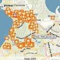 RAHAKAS INVESTOR ON TERETULNUD: Portaali City24 Pirital müügiolevate majade kaart.