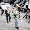 ФОТО | На строительстве нового круизного терминала в Таллинне прошел праздник стропил