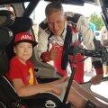 FOTOD | Täitusid raskelt haige 11aastase Rasmuse unistused! Oma panuse andis ka ralliäss Ott Tänak