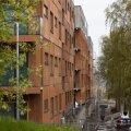 Kopli liinidel E kvartali ehitus