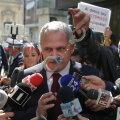 Liviu Dragnea ja valitsusvastased meeleavaldajad oktoobris