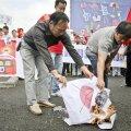 Jaapan nõuab Hiinalt protestijate tekitatud kahjude väljamaksmist