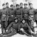 Eesti vabatahtlikud teel Norrast tagasi Soome (foto: Soomepoiste Pärimusühingu arhiiv)