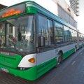 Auklikud tänavad rikuvad liinibusse