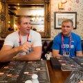 Lõunasöök medalimeestega Londonis